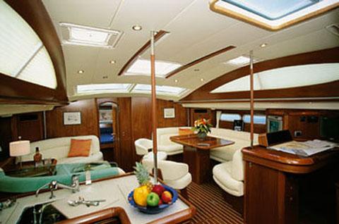 Jeanneau 54DS. Yacht Description